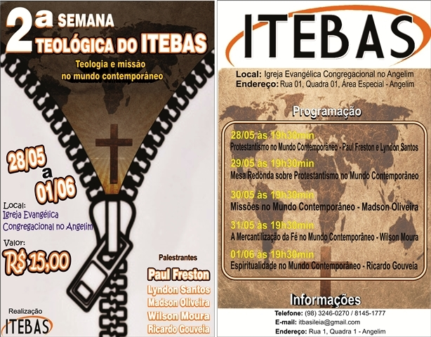 II Semana Teológica do ITEBAS